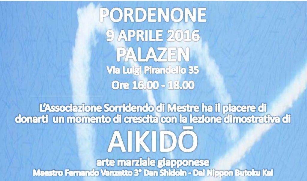 Lezione aperta Pordenone 9 aprile 2016